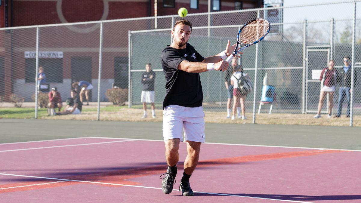 Men's tennis drops 6-3 decision to TWU
