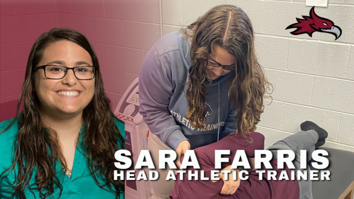 Farris promoted to Head Athletic Trainer