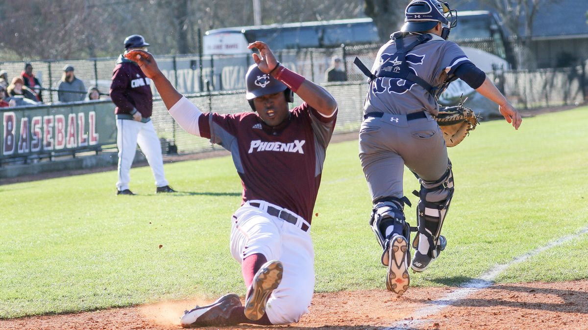 White's complete game helps CU split with Talladega