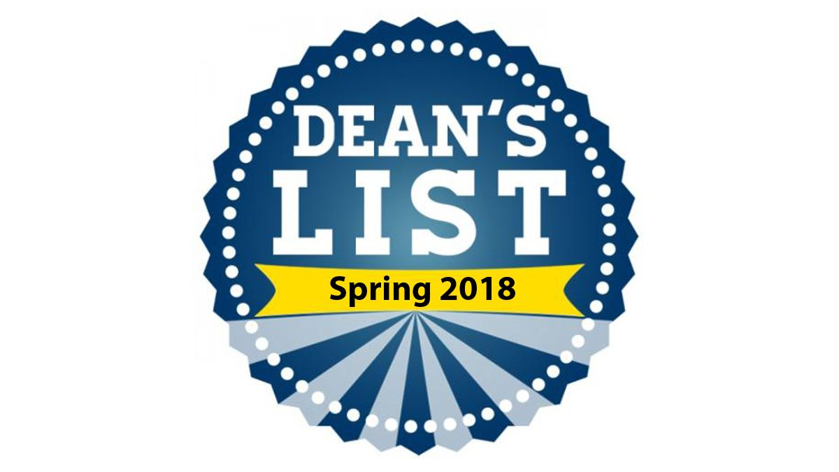 146 student-athletes, athletic trainers named to Spring 2018 Dean's List