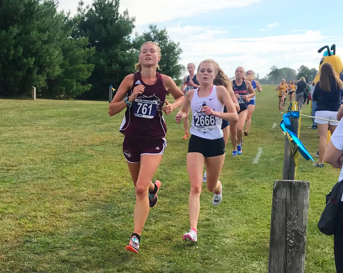 Women's Cross Country place 7th in Friendship Invitational