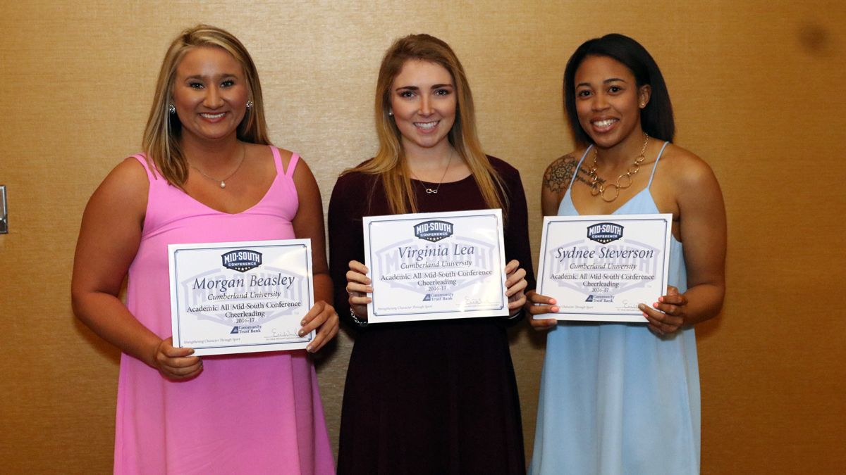 Nine cheer-dance team members earn Academic All-MSC honors