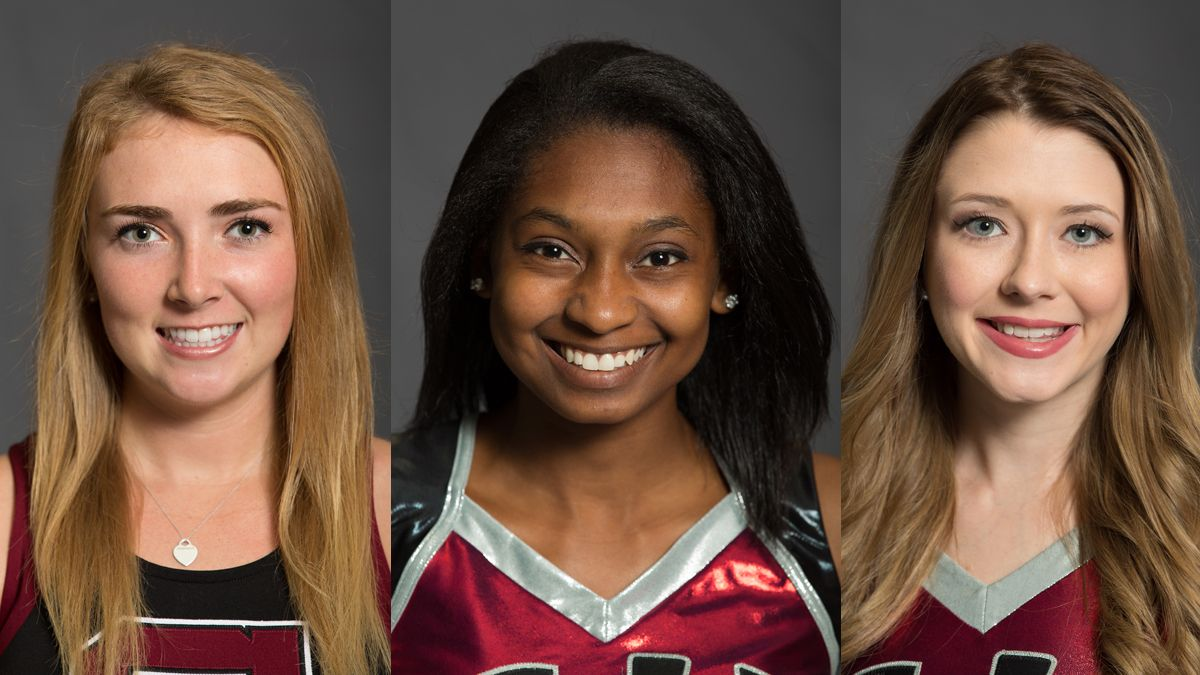 Three from cheer-dance named NAIA Scholar-Athletes