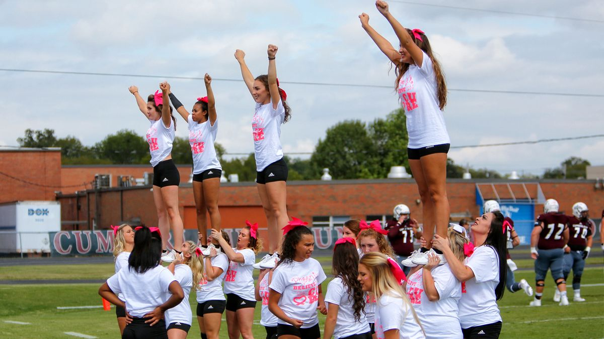Cheer/dance/mascot tryouts taking place this month