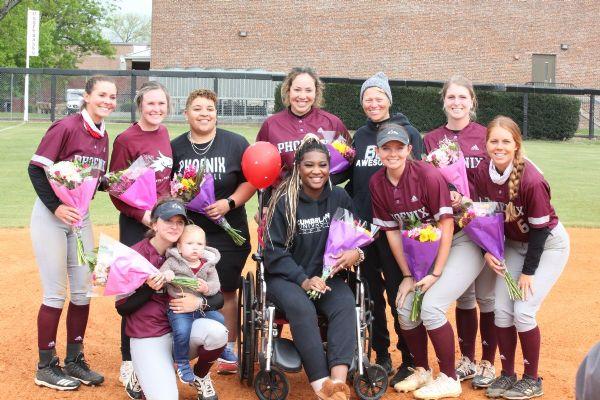 Cumberland Softball splits doubleheader with Bethel on Senior Day