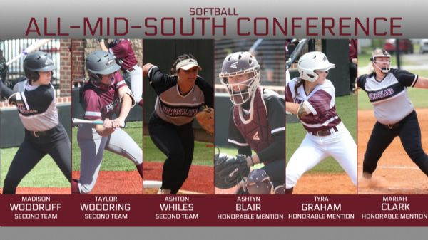 Six Phoenix earn All-Mid-South Conference honors