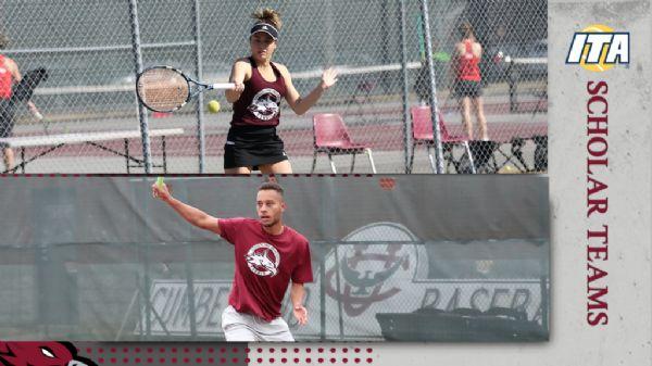 Men's and Women's Tennis Earn ITA Scholar Team Honors