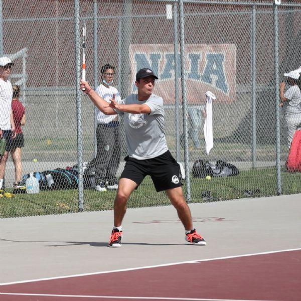 Men's Tennis sweeps Georgetown in MSC Fall Invitational Quarterfinals