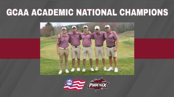 Men's Golf named GCAA Academic National Champion