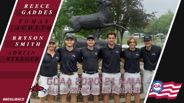 Four Phoenix Men's Golfers named to the GCAA NAIA 2020-21 Academic All-American Team