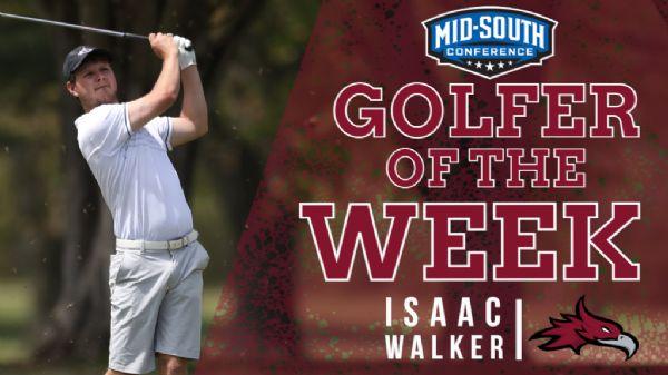 Walker earns MSC Men's Golfer of the Week
