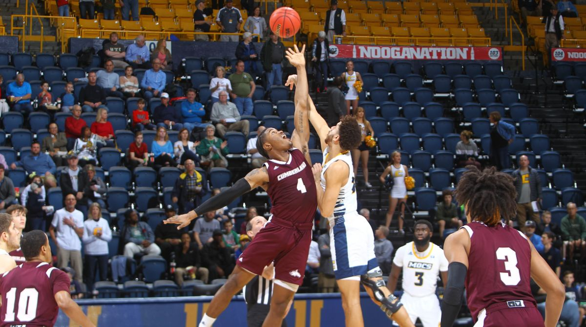 Men's Basketball falls to Chattanooga in an exhibition game
