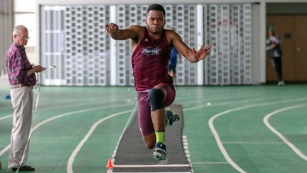 Ndebele wins triple jump at Middle Tennessee Invite