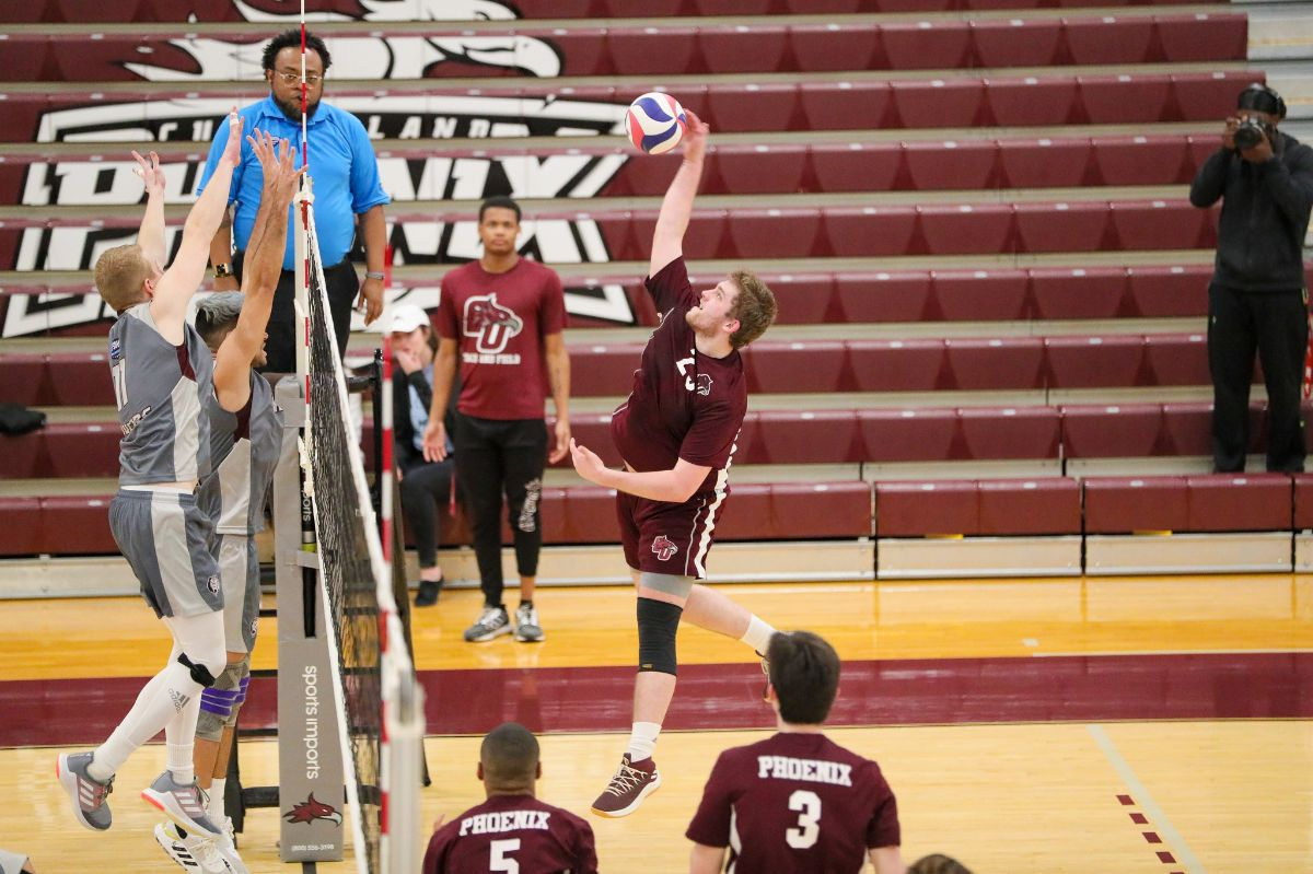 Men's Volleyball Falls to Reinhardt, 3-1