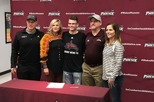 Harman Signs with Men's Volleyball