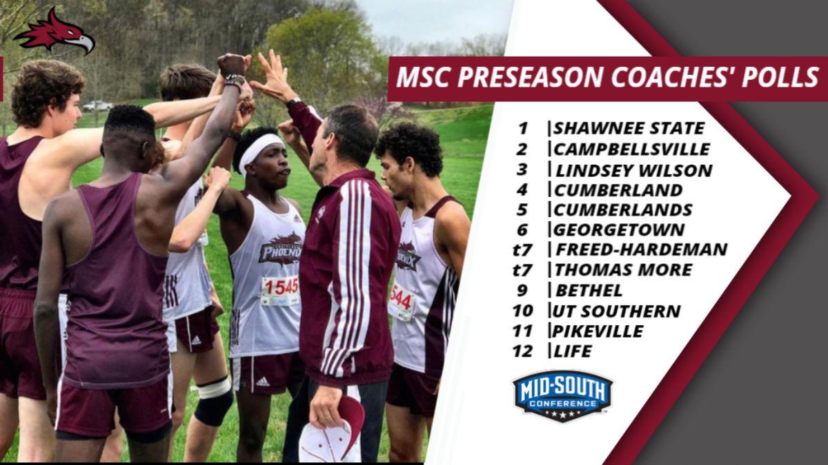 Phoenix Men's Cross Country selected Fourth in MSC Preseason Polls