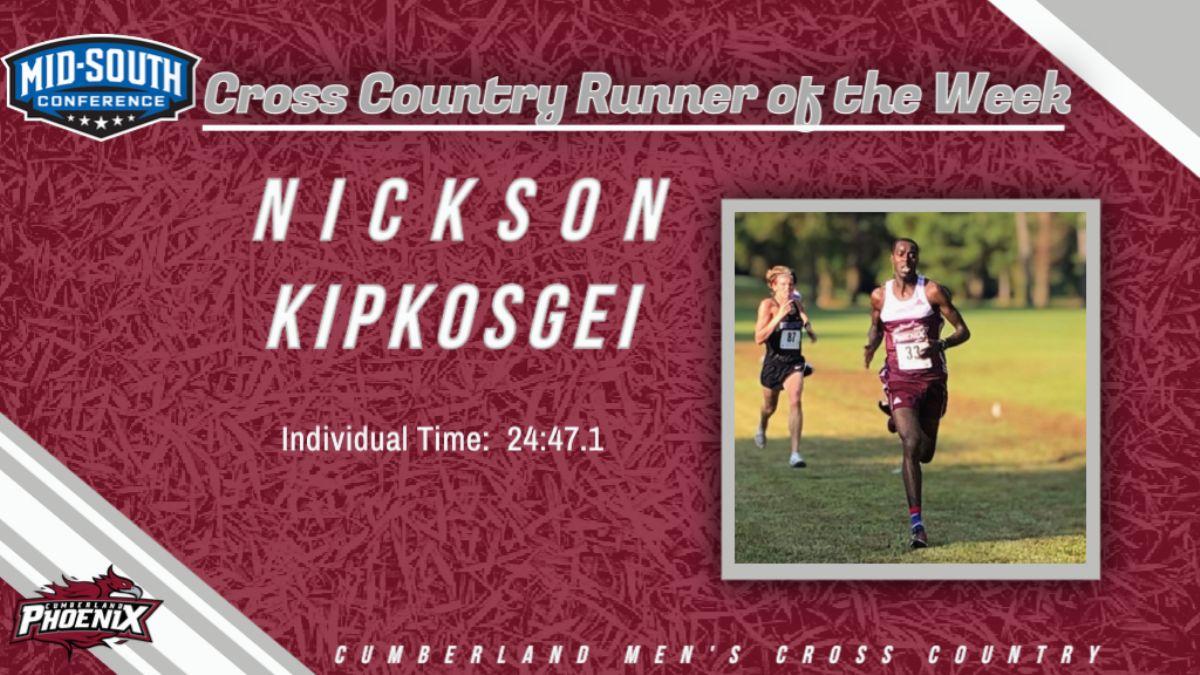 Kipkosgei named MSC Men's XC Runner of the Week