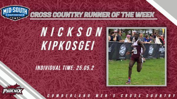 Kipkosgei named MSC Runner of the Week for the second time