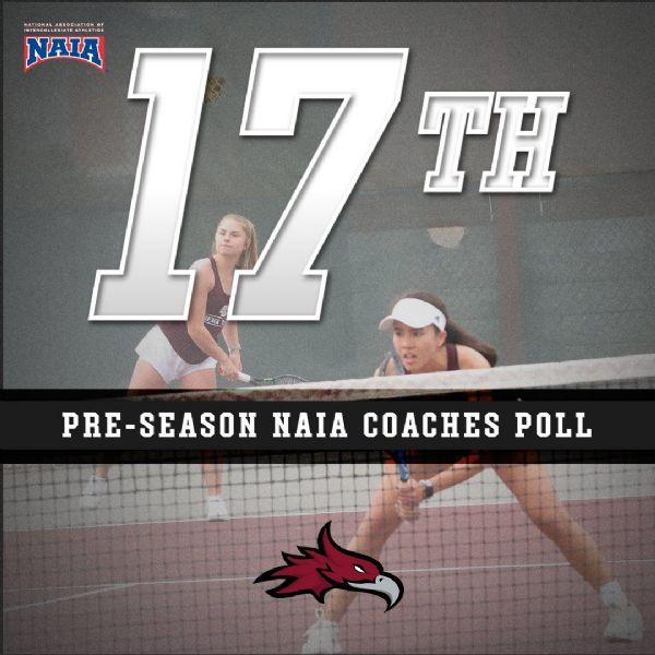 Women's Tennis Selected Seventeenth in NAIA Pre-Season Polls