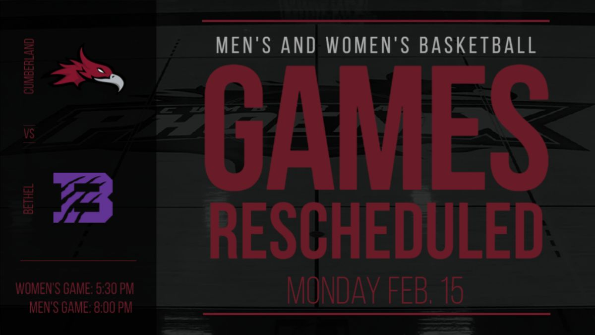 Men's and Women's Basketball with Bethel Rescheduled