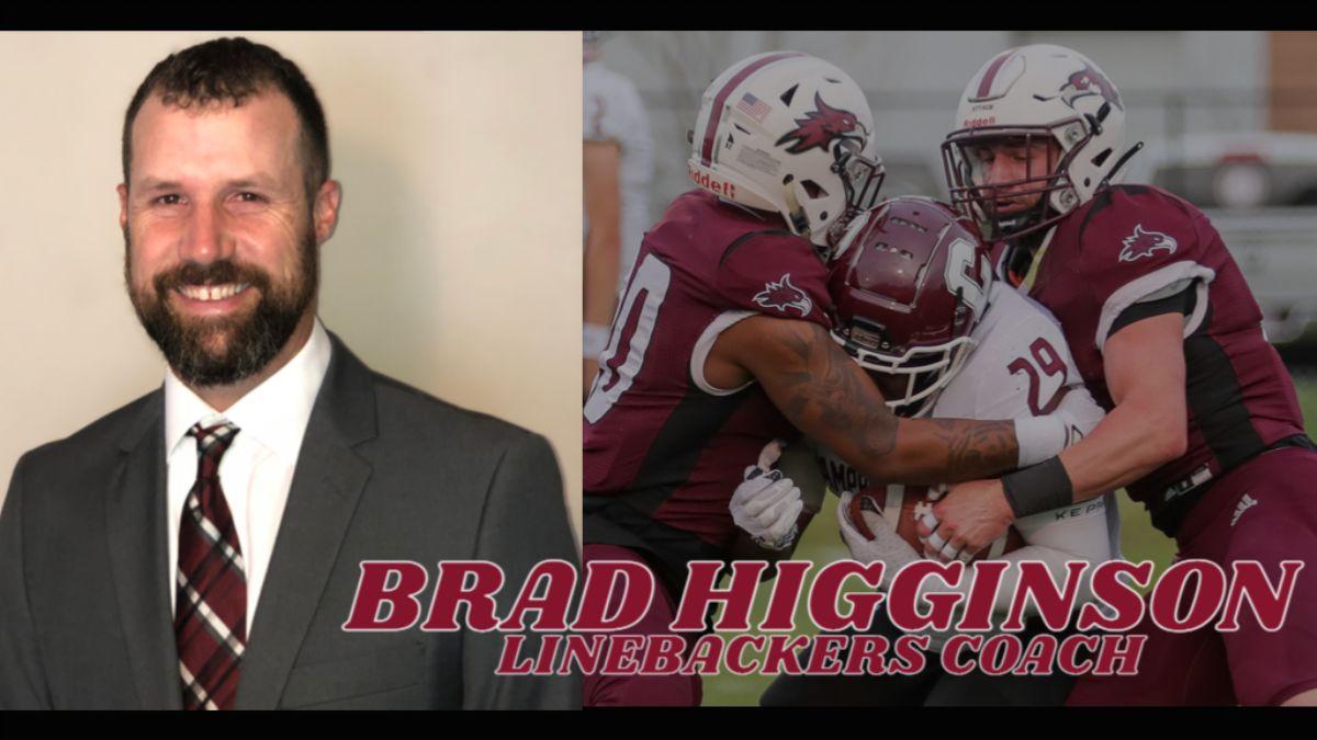 Brad Higginson joins football coaching staff as linebackers coach