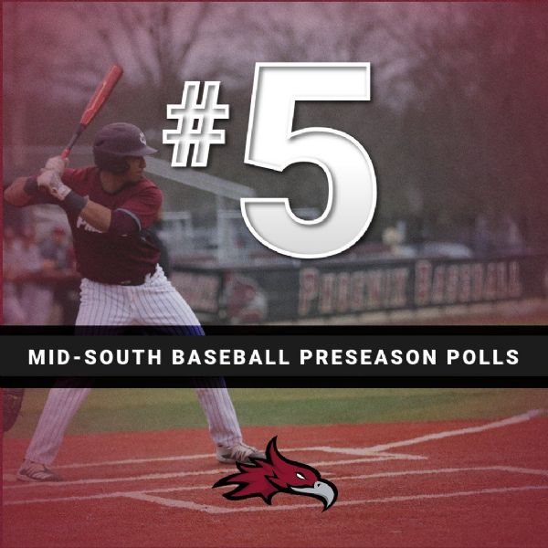 Cumberland Ranked Fifth in Mid-South Conference Baseball Preseason Coaches' Poll