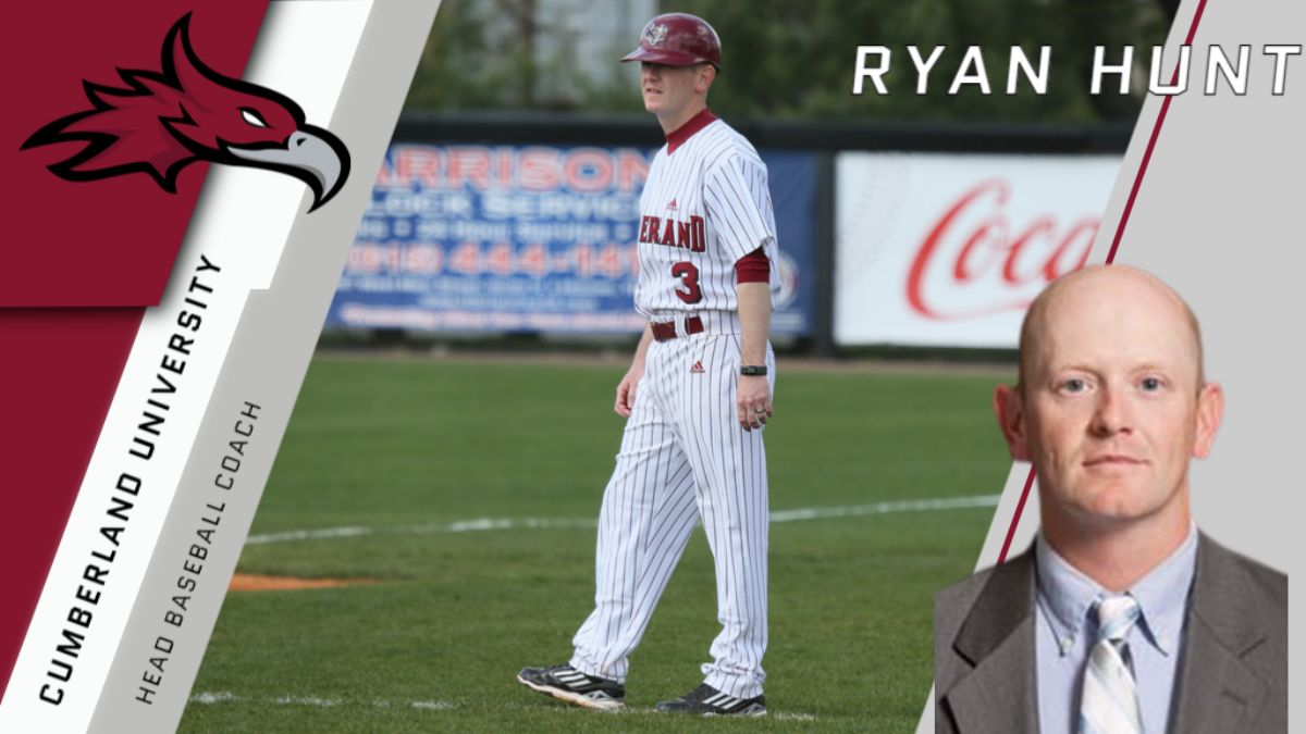 Ryan Hunt named next Cumberland head baseball coach