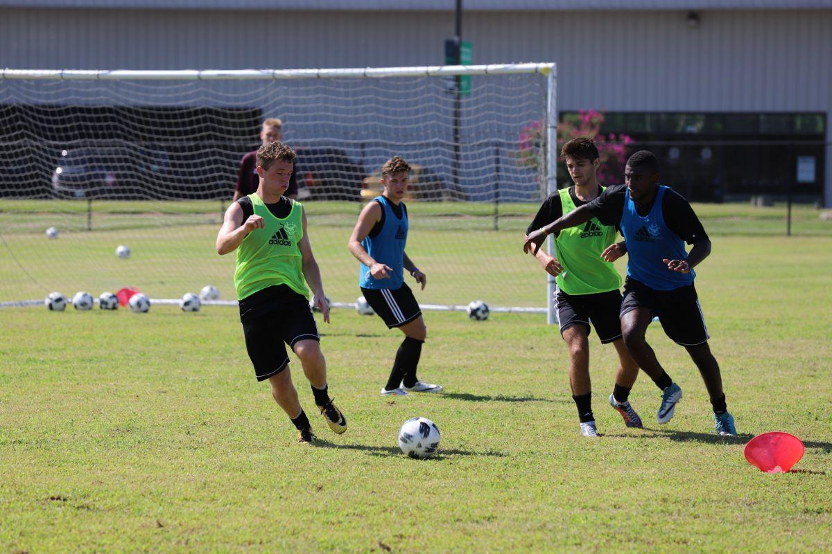Soccer Preseason Practice
