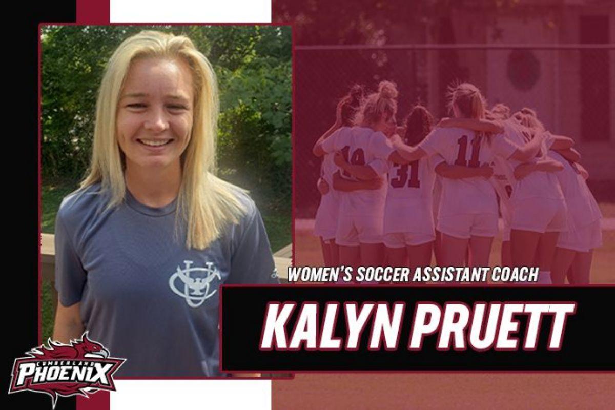 Pruett added to Women's Soccer staff