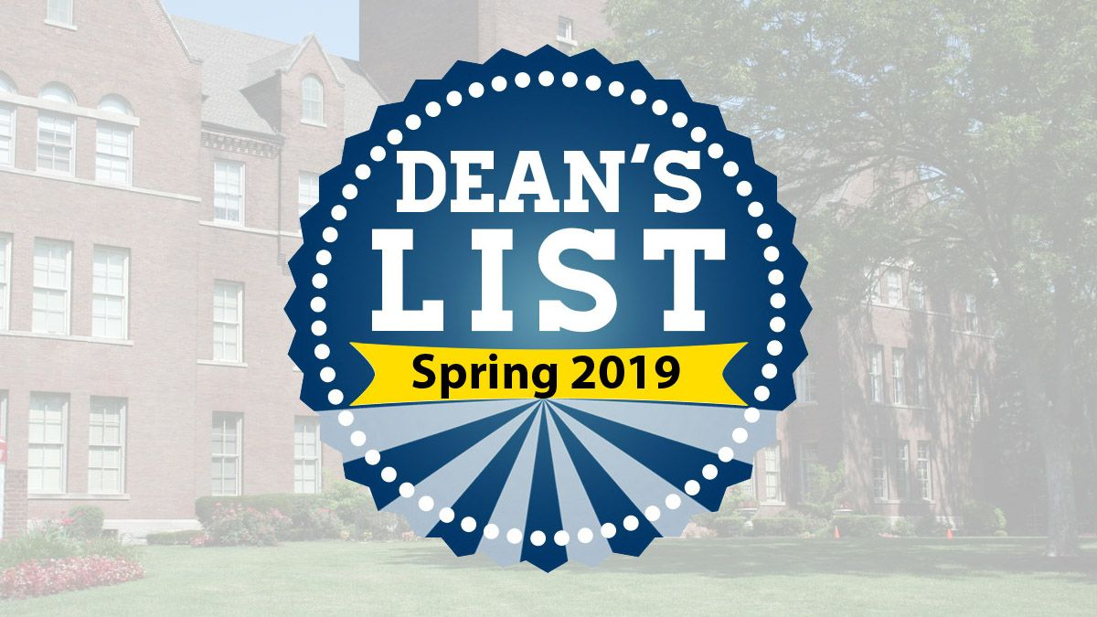 132 student-athletes, athletic trainers named to Spring 2019 Dean's List