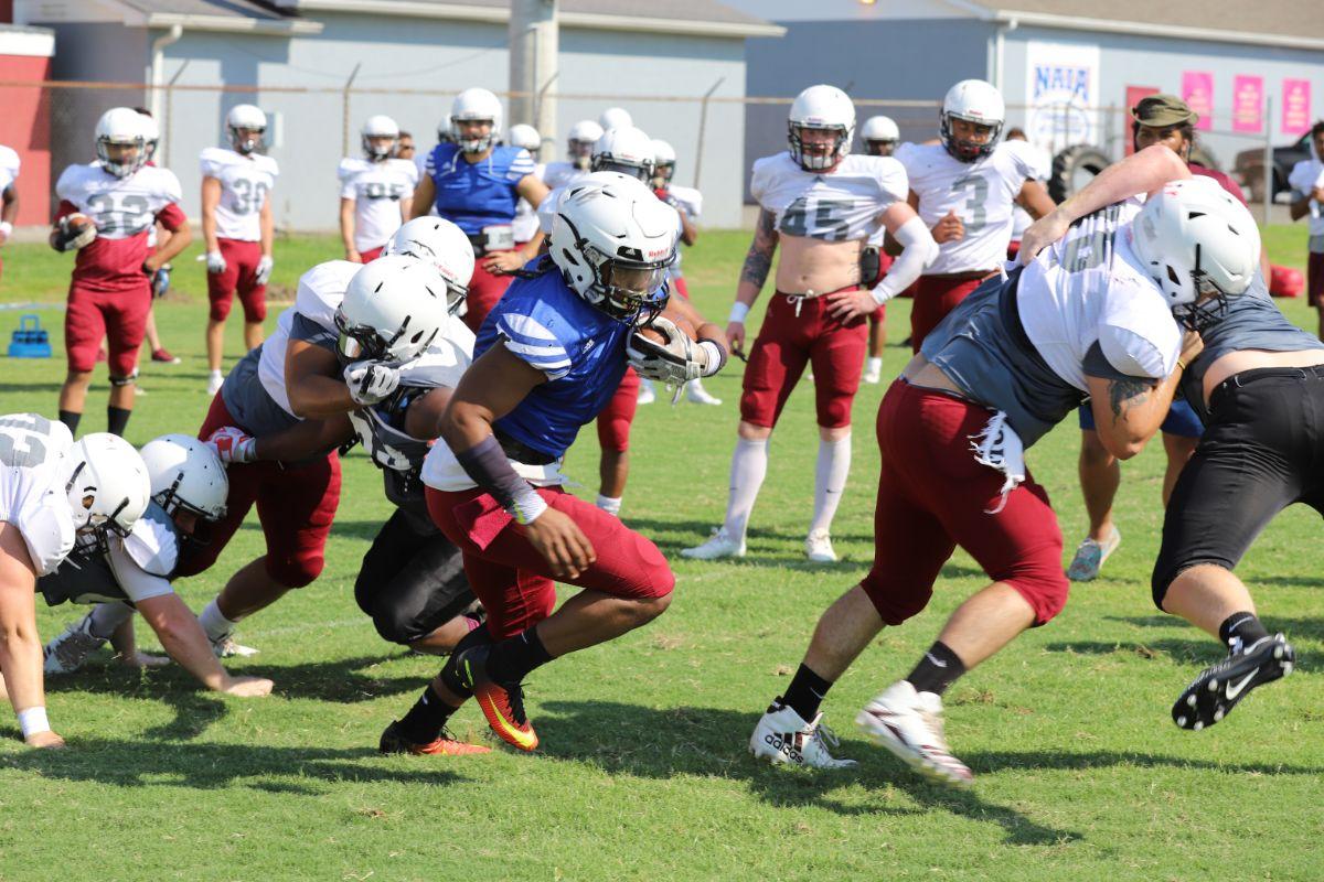 Football Preseason Practice