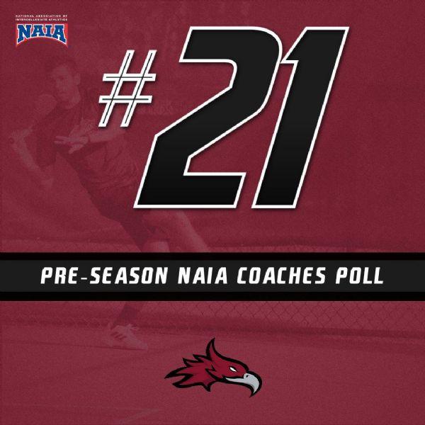 Men's Tennis ranked 21st in NAIA Coaches Top 25 Preseason Poll