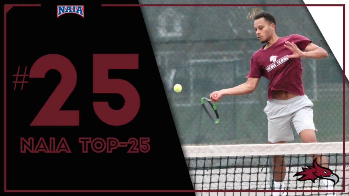 Men's Tennis falls to No. 25 in the NAIA Polls
