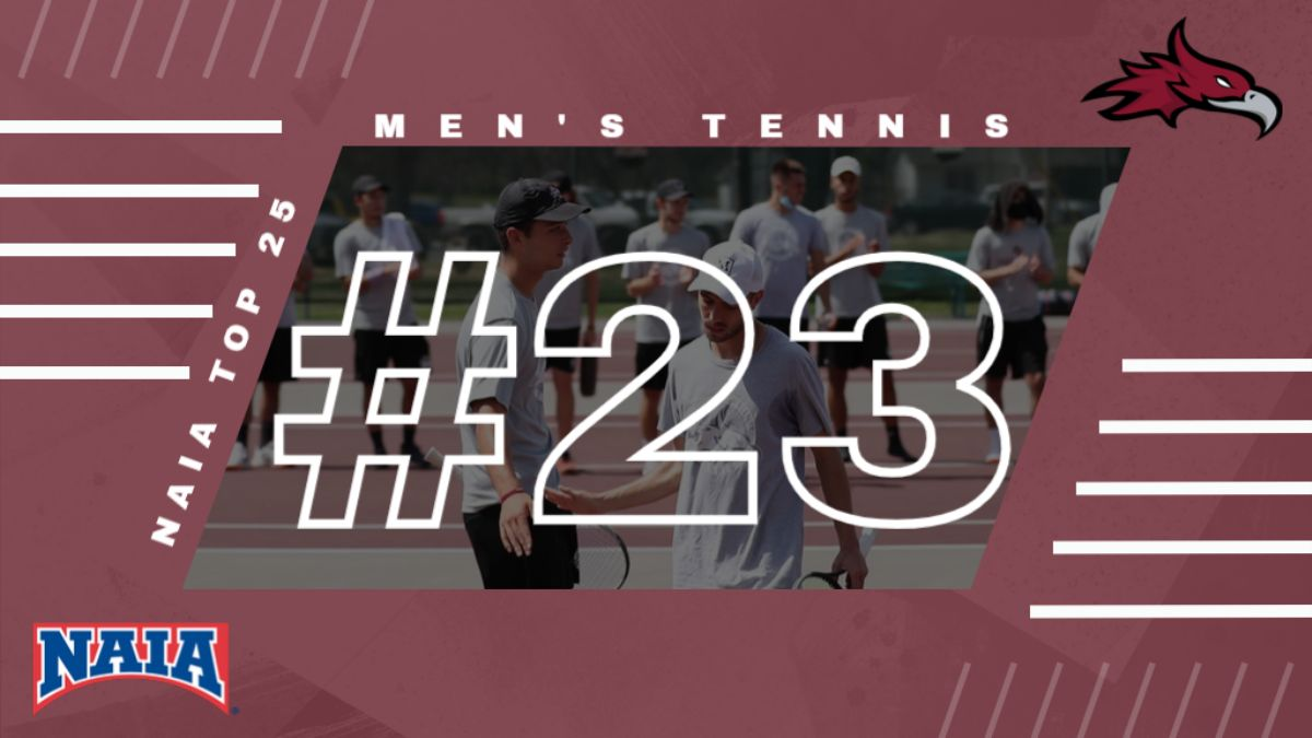 Cumberland Men's Tennis back in NAIA Top 25, ranked 23rd