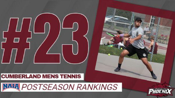 Phoenix Men's Tennis ranked 25th in NAIA Postseason poll