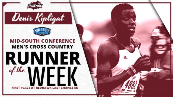 Kiplagat named MSC Men's XC Runner of the Week