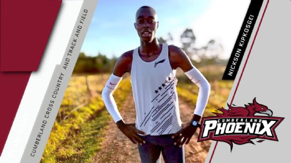 XC and Track & Field sign Kenyan Nickson Kipkosgei