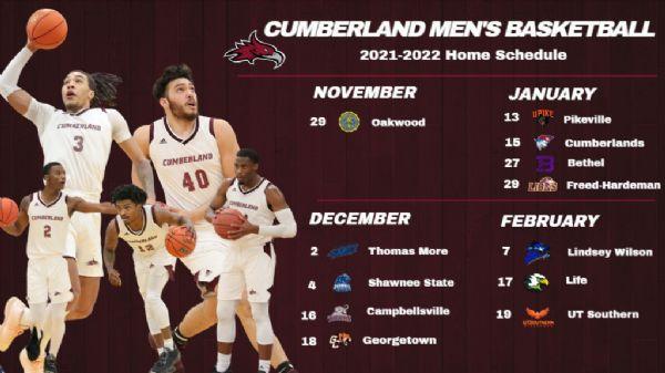 Men's Basketball releases 2021-22 schedule