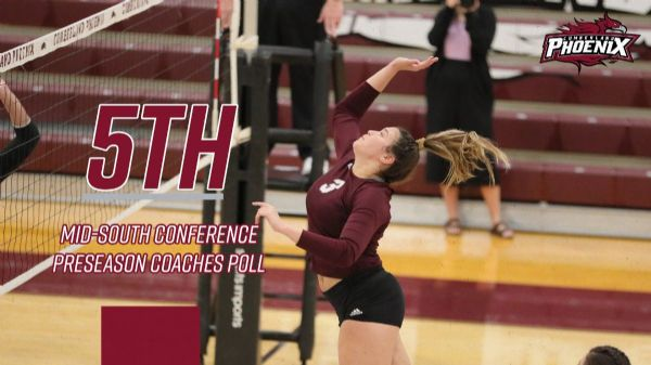 Women's Volleyball selected Fifth in MSC Preseason Coaches' Poll
