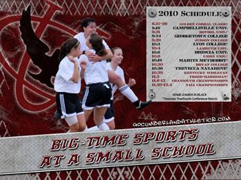 2010 Women's Soccer Wallpaper