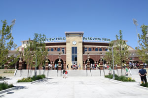Parkview Field Front Entrance