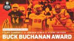 Presbyterian's Campbell voted to Top 3 in Buck Buchanan Award