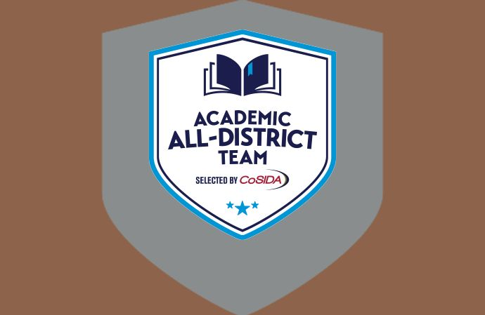 Nine PFL Student-Athletes recognized on 2020-21 CoSIDA Academic All-District Teams