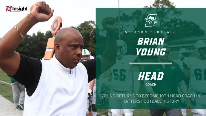 Brian Young named Stetson head football coach