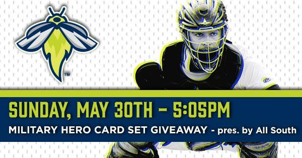 Augusta GreenJackets | Sunday, May 30, 2021 | 5:05  p.m.