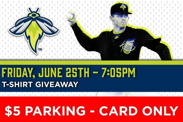 Myrtle Beach Pelicans | Friday, June 25, 2021 | 7:05  p.m.