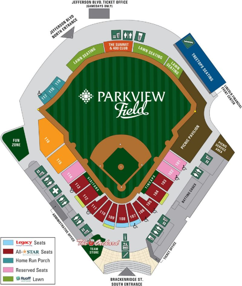 Parkview Field Special Event Venue
