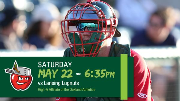 Lansing Lugnuts | Saturday, May 22, 2021 | 6:35  p.m.