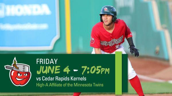 Cedar Rapids Kernels | Friday, June 4, 2021 | 7:05  p.m.