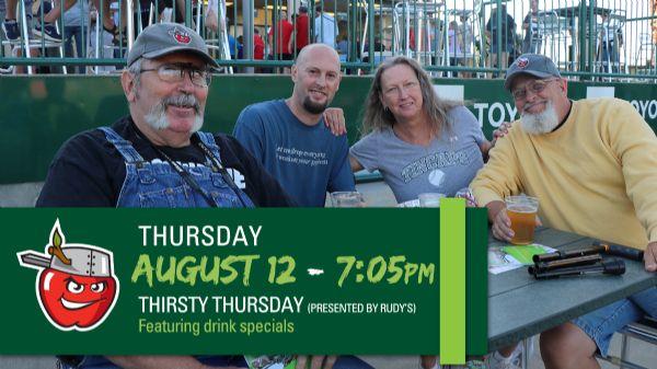 South Bend Cubs | Thursday, August 12, 2021 | 7:05  p.m.